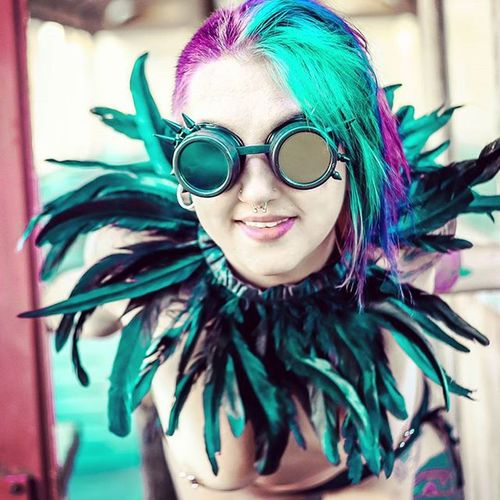 Poison ivy Beautiful Goddess Freethegoddess Poison Postapocalyptic Madmax Sucidegirl SuicideGirls Freethenip Goth Punk Dieselpunk Ink Tattoo Tattoos Tattoogirls