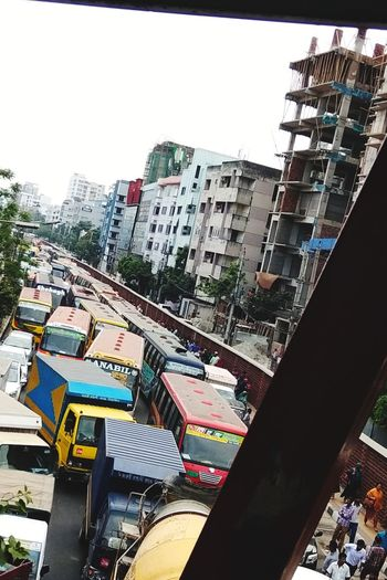 unorganized trafic City Cityscape Skyscraper Urban Skyline City Life Sky Architecture Building Exterior Built Structure