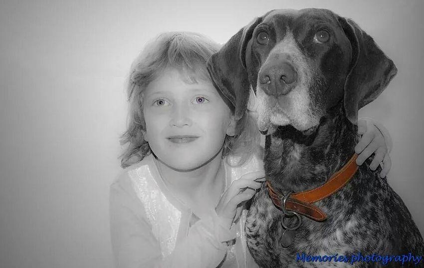 Photo Shoot Dog Love Colour Splash Modeling Shoot
