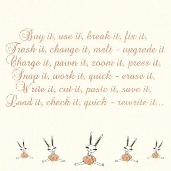 :3 no tenía nada que hacer :D Technologic Daftpuk Song Lyric  textcutie quotes cute