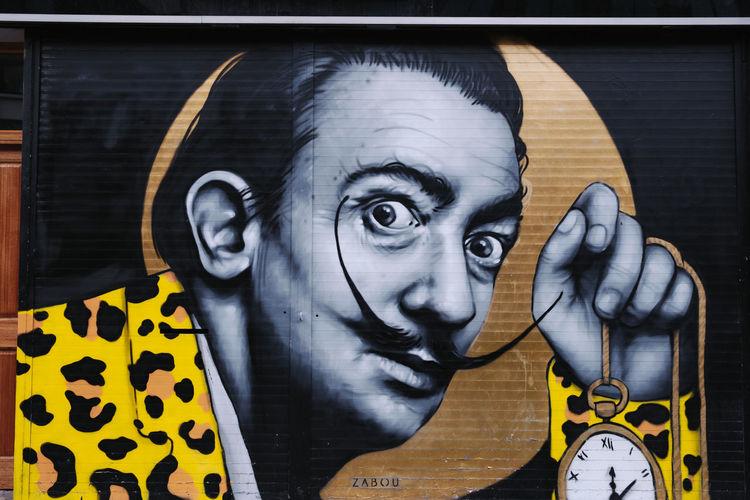 Graffiti Art Streetphotography Spray Paint London Shoreditch Winter