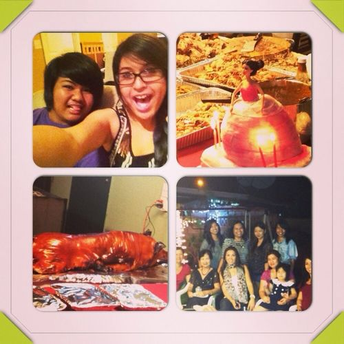 Party Last Night With The Fam And My Bestest Friend In Tge Yuniverse!!!