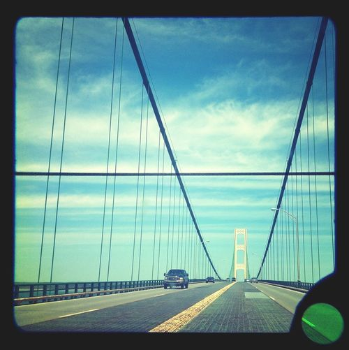 Mackinac Bridge | edited with the new Viewmatic app for iPhone Viewmatic