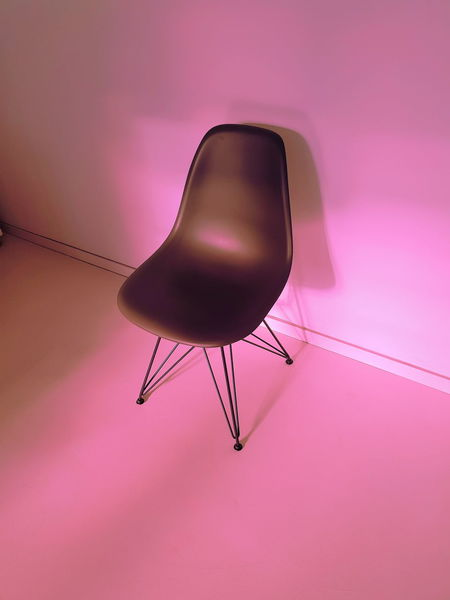 MENTAL x BREAK 0711 Objects Stuttgart Absence Architecture Black Color Chair Close-up Constantinschiller Copy Space Design Flooring Furniture Herrschiller High Angle View Indoors  No People Pink Color Purple Seat Shadow Single Object Still Life Vitra Wall - Building Feature