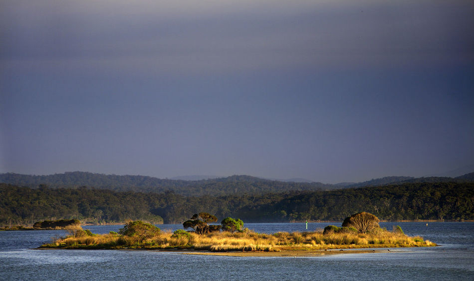 Beauty In Nature Inlet Mallacoota Mountain Nature No People Outdoors Rabbit Island Scenics Sky Victoria Water