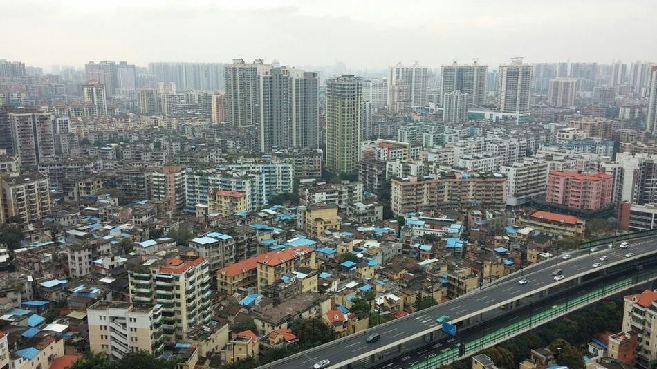 什么时候才能结束这破天气啊!=_= City View  Guangzhou Bad Weather