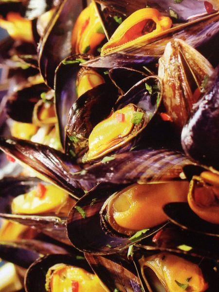 Mussels Moules Moules Frites Marinière Lunch France