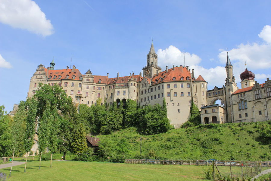 Castle Schloss Sigmaringen Architecture History Palace