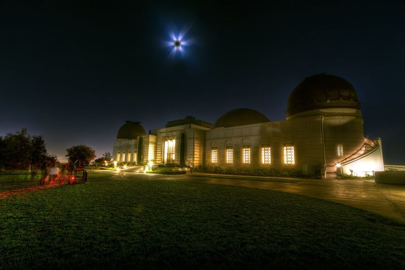 Eclipse @ Griffith Observatory - Los Angeles, CA Taking Photos Architecture Beautiful Nature