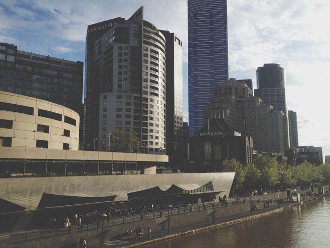 Yara River Melbourne Flinders St #Melbourne Australia