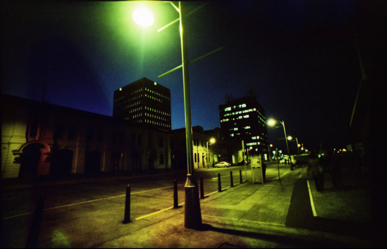 illuminated, night, building exterior, street light, architecture, built structure, outdoors, no people, city, sky
