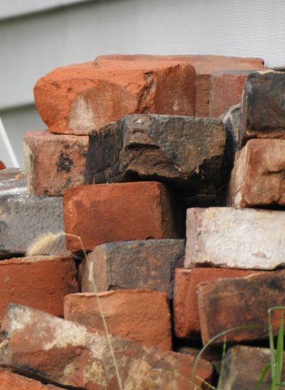 Brick Brick Pile Brickporn Bricks Brown Building Material Building Materials Close-up Colorful Bricks Orange