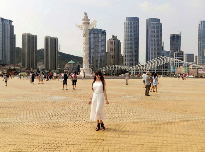 In Dalian City View  Dalian City Xinghai Square China ASIA Travelling China, Dalian