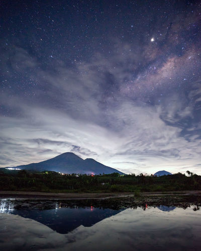 milkyway above the sindoro mountain Nightphotography EyeEm Selects Eye4photography  Eye4photography  Eye Milkyway Mountain EyeEm Best Shots EyeEm Gallery EyeEmNewHere High Lands Landscape EyeEm Nature Lover INDONESIA Nature Galaxy Star Stars Reflection Nature Collection