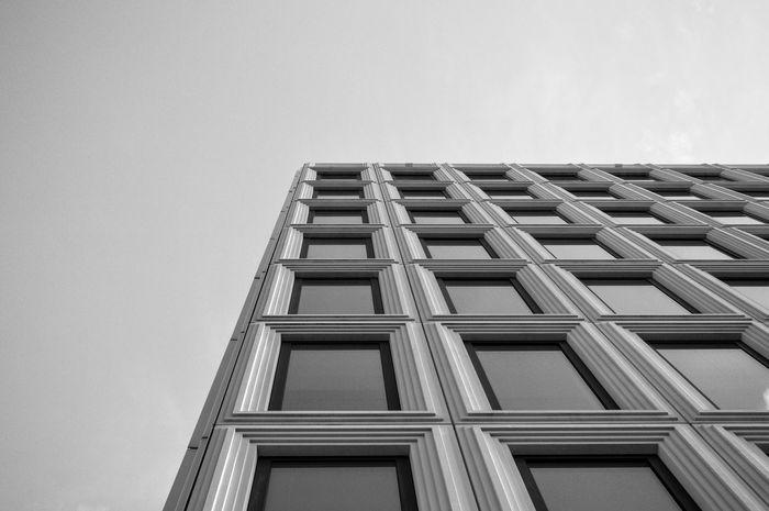 1/3 Amazing View Architecture Black Blackandwhite Buidling Corners Rotterdam White Windows