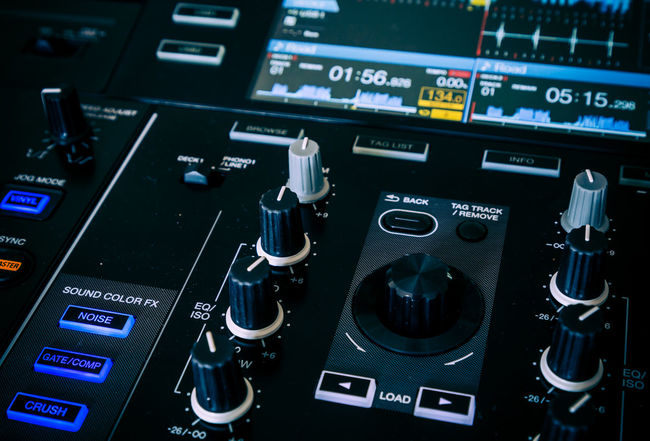 Abstract of a DJ mixing deck. Audio Audio Equipment Audio Production Dj Music Music Production Arts Culture And Entertainment Buttons Close-up Complexity Control Panel Cue Djay Knobs Mixing Mixing Console Mixing Desk Music No People Play Recording Studio Sliders Sound Mixer Sound Recording Equipment Technology