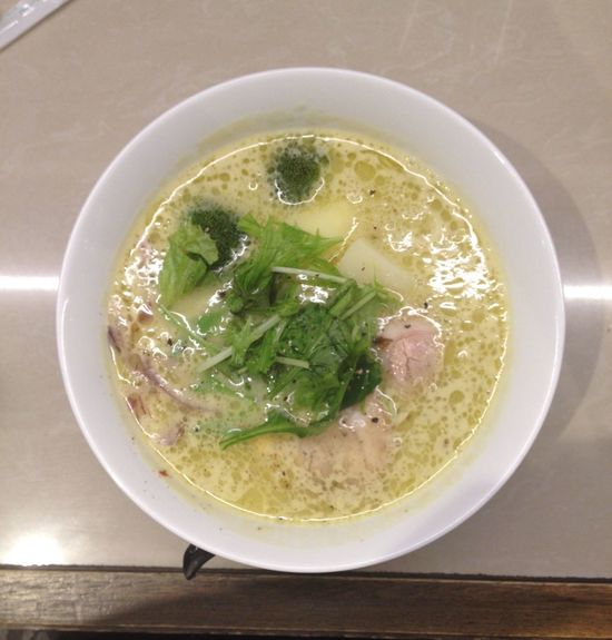 Noodles Ramen Yummy Eating Not Potage This is Vagetable Miso Ramen !