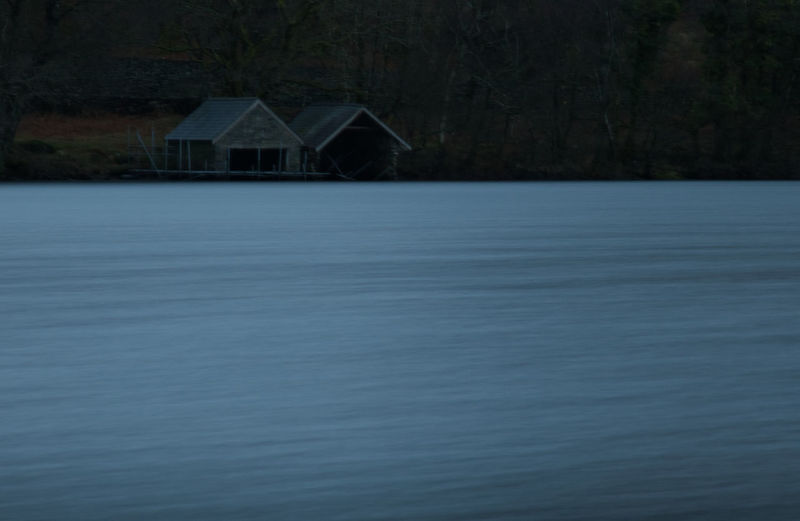 My final picture of the first day of my weekend in Snowdonia National Park, North Wales Long Exposure Boat House Water Lake Hut Architecture Building Exterior Built Structure Calm Remote Lakeside Countryside
