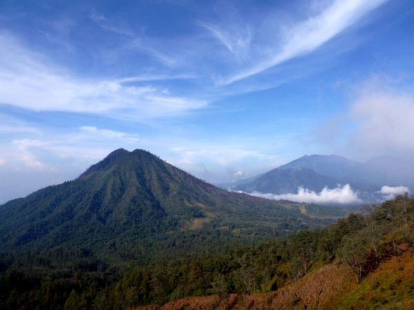Gunung Raung viewed from Ijen Cloud - Sky Gunung Landscape Mountain Mountain Range Nature Non-urban Scene Outdoors Raung Mauntain Scenics Tranquil Scene Valley