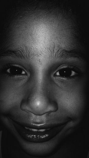 B&W Portrait My little princess!!!😚👧👣 Love My Family ❤