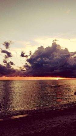 Beach Sand Sea Sunset Nature Tranquility Beauty In Nature Landscape Scenics Cloud - Sky Outdoors Summer Horizon Over Water Water Sky Vacations No People Travel Destinations Wave Low Tide