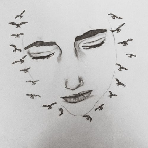Escaping from reality, to another world, to my dreams Let It Be Flying Birds Liberty