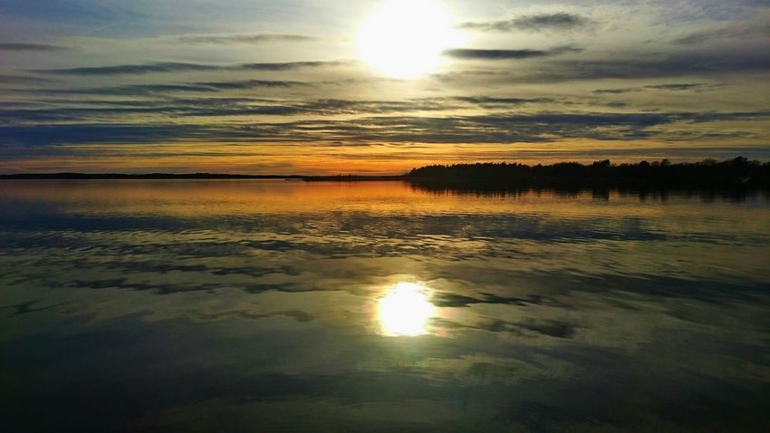 Sunset Lake View No People Nature Landscape My Lake From My Point Of View See What I See Clouds And Sky EyeEmNewHere Lost In The Landscape