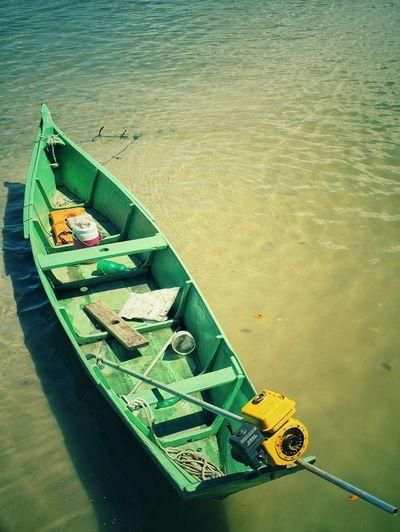 Little Boat Fishing Boat River Relaxing Water Paradise Brasil Aracaju