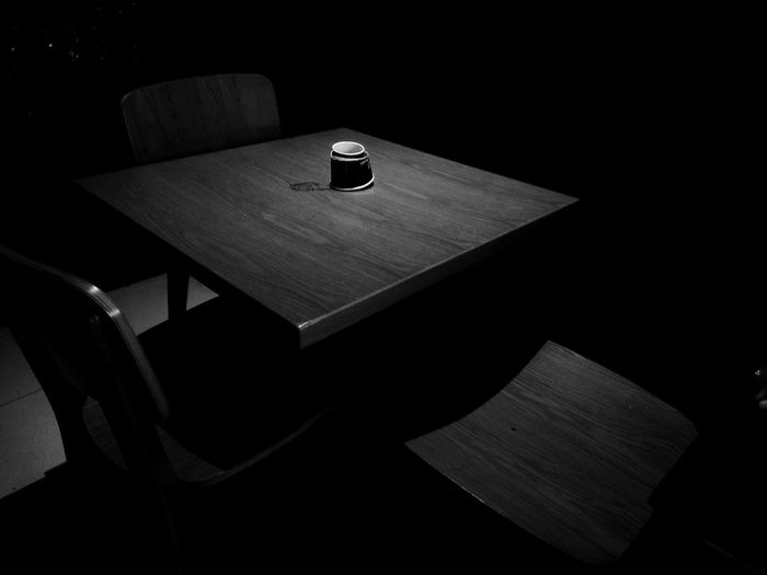 You didn't turn up Broken Heart Angry Table Setting Table Talks Missing You Lonely On The Edge Lonely Hearts Nritzz Alone In The Dark Blackandwhite Photography Black And White Colour Of Life