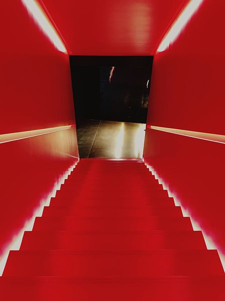 Red Indoors  Steps And Staircases Staircase Steps Architecture Built Structure No People Day Red Carpet Event Connected By Travel Lost In The Landscape EyeEmNewHere