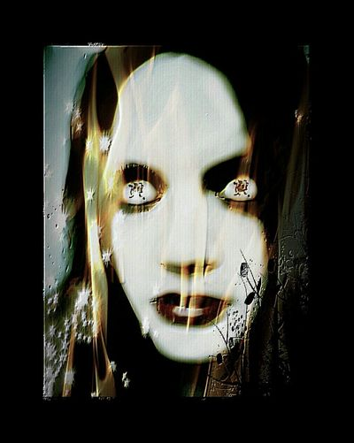 Darkness Girl Check This Out Dark Art Darkart 28 DAYS LATER