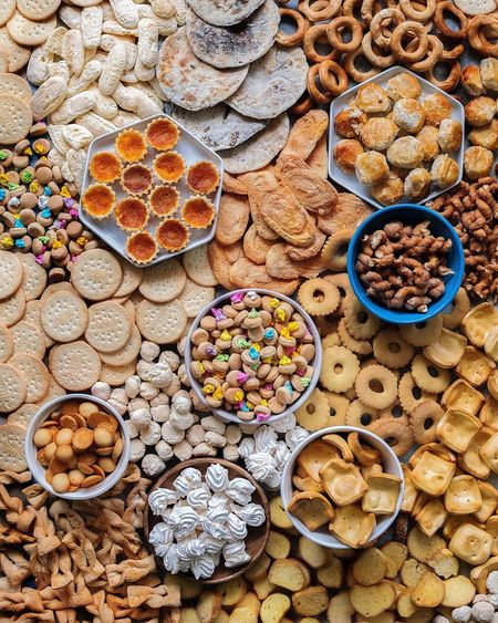 Fipino Snacks 1 Filipino Food Variation Abundance Large Group Of Objects Choice Sweet Food Directly Above No People The Still Life Photographer - 2018 EyeEm Awards