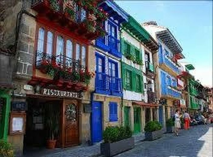 Color Portrait Colours House BasqueCountry North Of Spain My Country In A Photo Colours