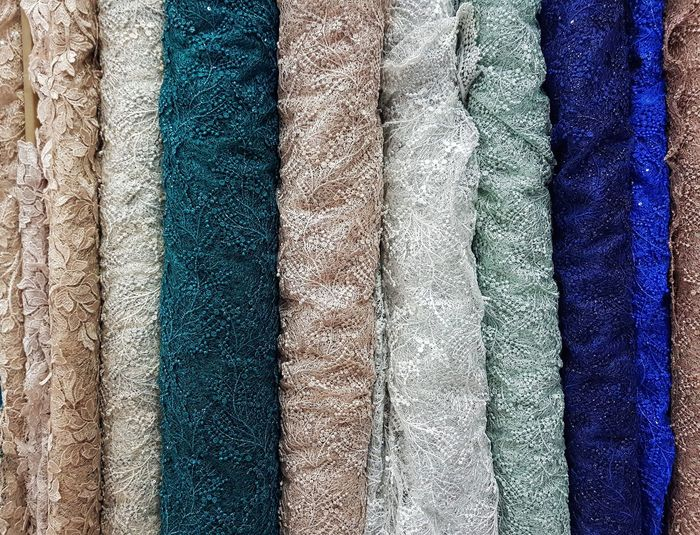 Multi Colored Backgrounds Full Frame Textured  Pattern Blue Close-up Seamless Pattern Fabric Clothesline Clothes Drapes  Drying Carpet Laundry Woolen Colorful LINE Repetition