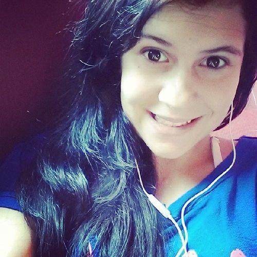 Hello ★ Tedio Cabelo Saiu Azul na foto