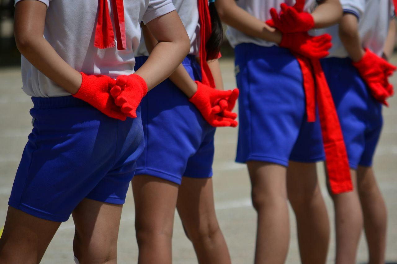 Sports people in uniform
