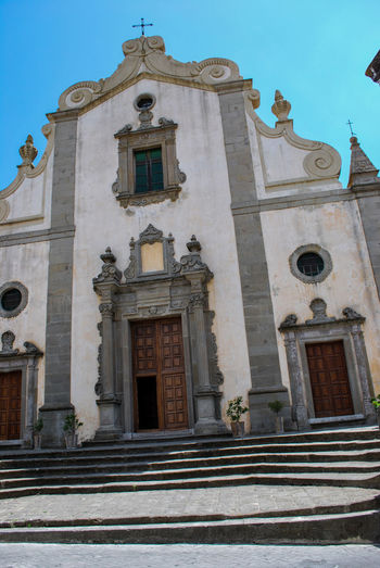 Annunziata Architecture Building Exterior Church Day Forza D'agrò Holidays Italy Low Angle View No People Outdoors Place Of Worship Religion Sicily Sky Spirituality Travel