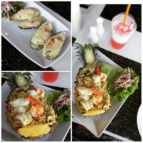 морепродукты Seafood Luhc обед