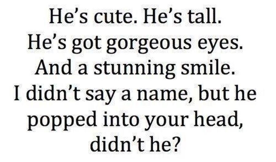 Didnt He?