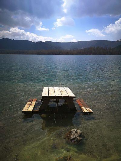 Water Mountain Star - Space Lake Sky Landscape Mountain Range