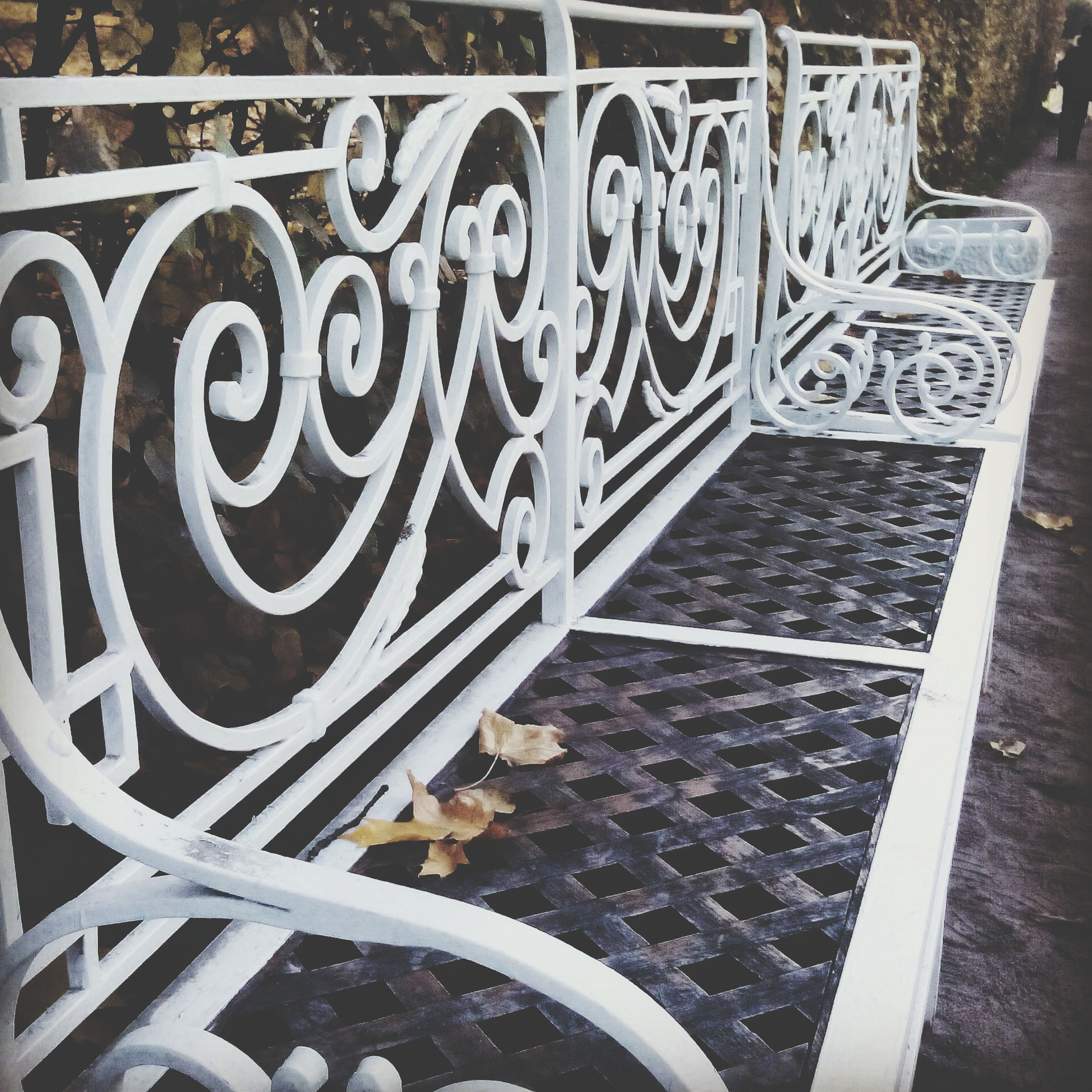 metal, railing, high angle view, transportation, staircase, steps, close-up, metallic, pattern, design, no people, steps and staircases, day, built structure, part of, wheel, outdoors, architecture, old