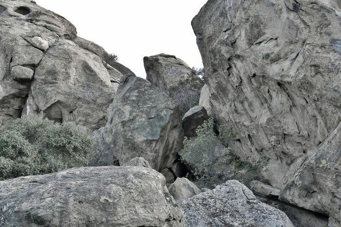 Rock Formation Rock Pile Rocks Monochrome