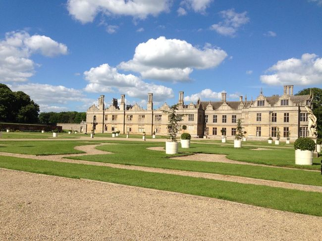 Architecture Building Exterior Famous Place Garden Historic History Kirby Hall Outdoors