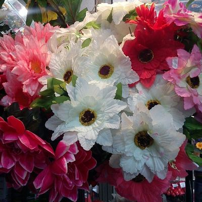 Unfortunately flowers on this photo, what I captured today in our local flowershop, not real, but sooooo beautiful :)