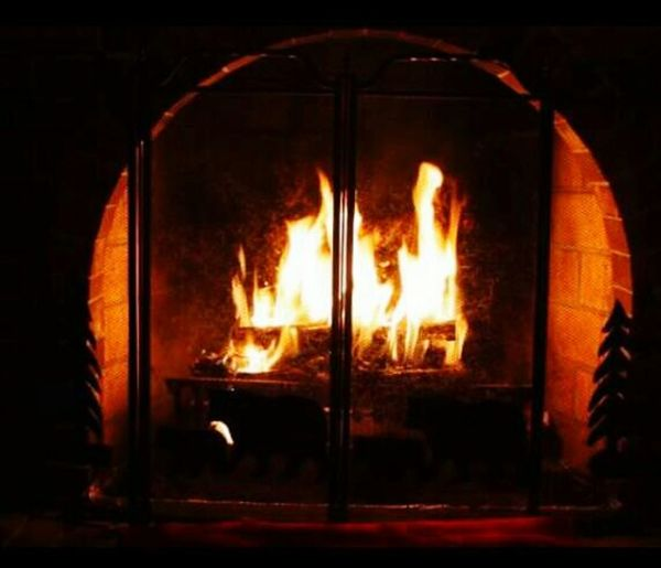 Fire time to keep warm Fire Warming Me Up Warm Fire Arched Fireplace My Parents Home I Miss Them Roaring Fire