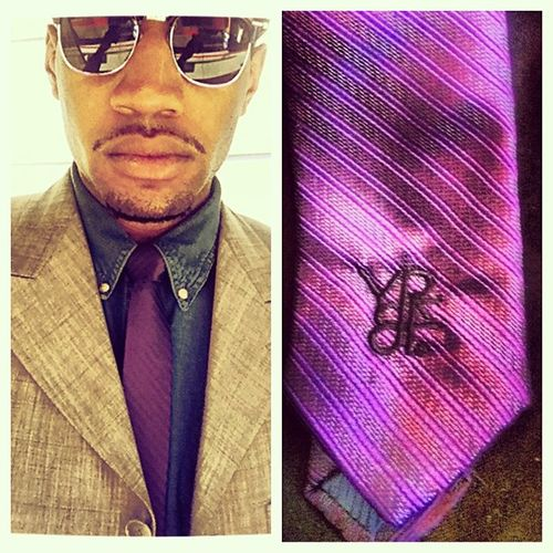 Im the CEO of Everything YR&F™! Meet my weapon of choice for today a Purple YR&F™ Skinny Tie! You can order yours now on our website www.YrfLifestyle.com!!!!! Photooftheday Picoftheday Fashion Style Swag Shoes Model Pictureoftheday Dress Street Sunglasses Colorful Instafashion Streetphotography Shorts Inspiration Clothes Want Photoshoot Weheartit Boutique Sale Streetstyle Vintage Styleblogger fashionblogger