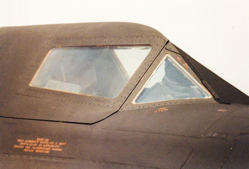USAF SR-71 Blackbird Cockpit 35mm Film Photography RAF Mildenhall Cockpit SR-71 Blackbird EyeEm Selects Transportation No People Day Car Motor Vehicle Nature