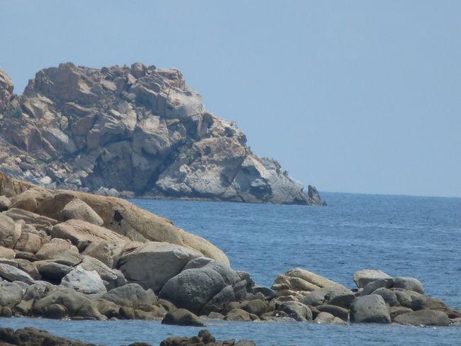 coast view Sardinia Sardegna Italy  Sardinia Sardegna Water Sea Beach Rock - Object Sky Horizon Over Water Rocky Coastline Coastline Cliff Calm Rock Formation Coast Rock Coastal Feature