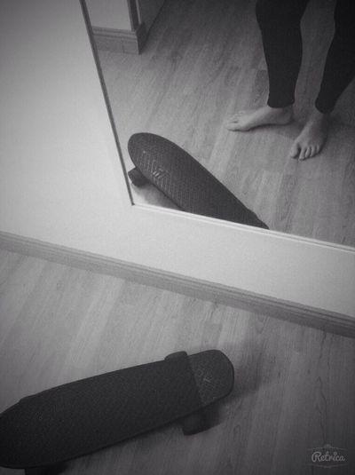 Swag Blackandwhite Monochrome Skateboard