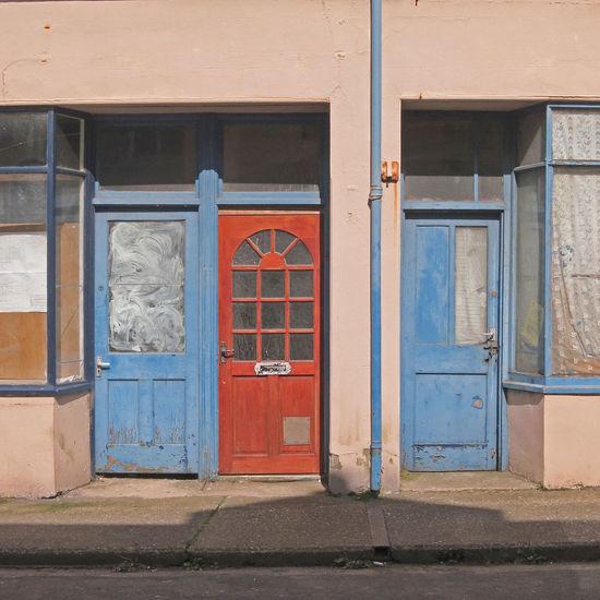 Drei Türen - three doors - tres puertas Architecture Building Exterior Built Structure Closed Day Door Entrance Front Door House No People Outdoors Puerta Puertas Residential Building Shutter Turkey Türen Window